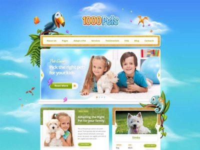 1000pets.com demo web site