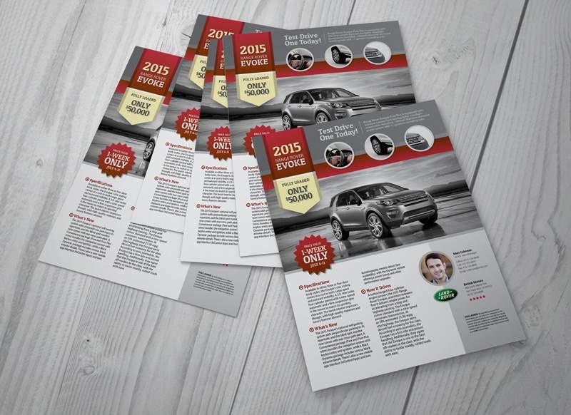 Range Rover Evoke Flyer