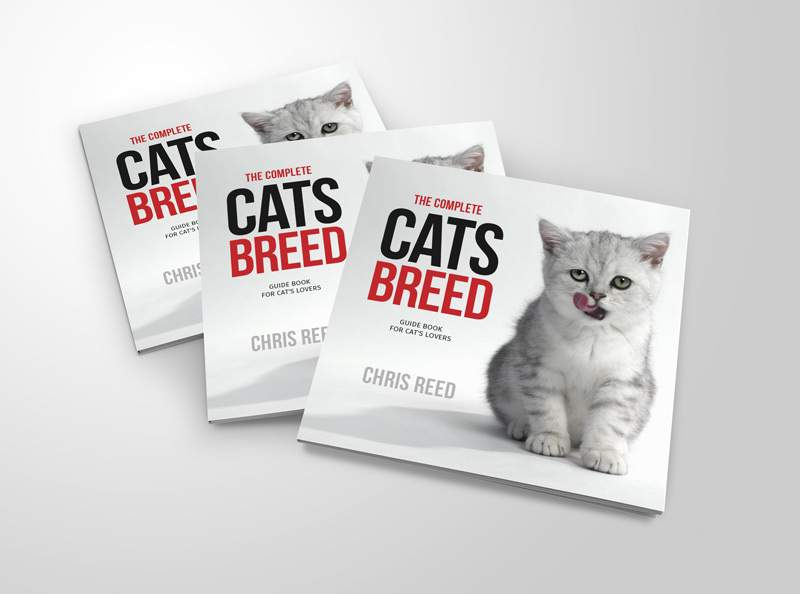 Cats Breed Book Cover