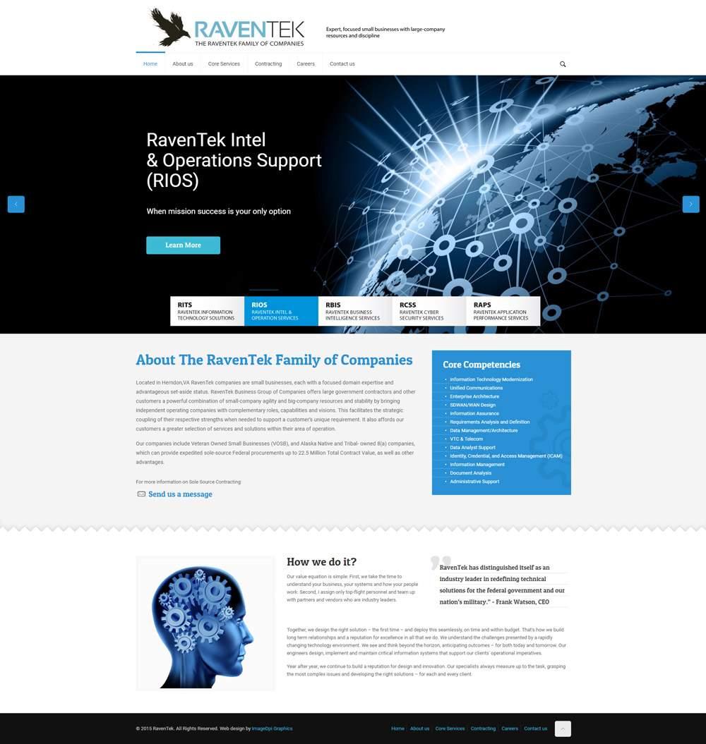 RavenTek Website