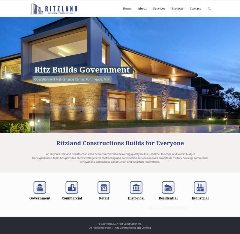 Ritz Website
