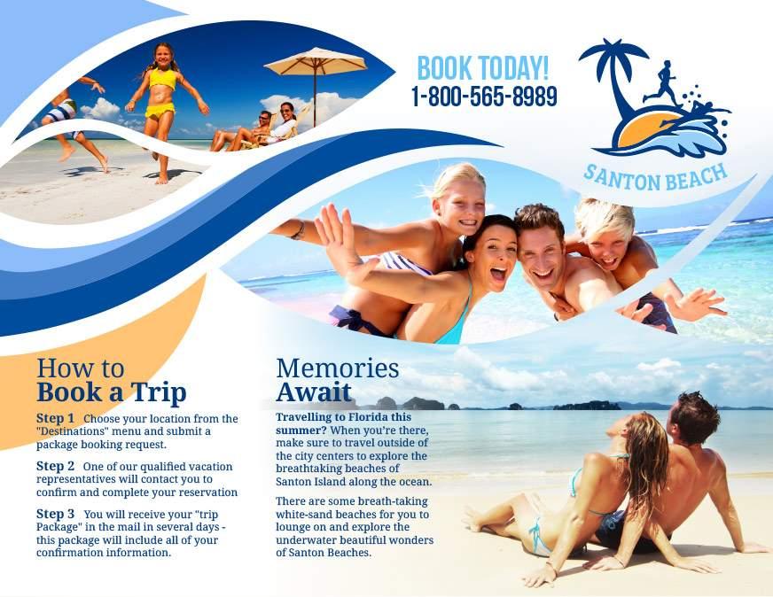 Summer Vacation Flyer